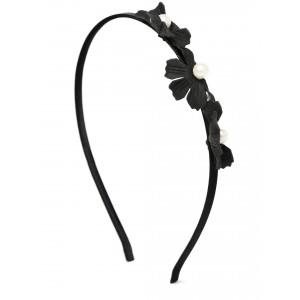 Buy Toniq Black Daisy Hair Band - Nykaa