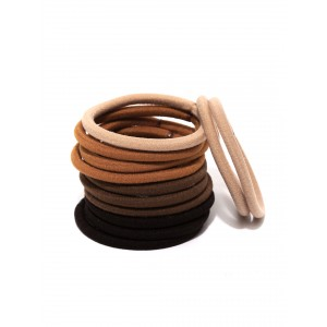 Buy Toniq Set of 12 Down To Earth Rubber Bands - Nykaa