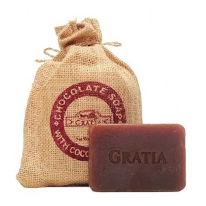 Buy Gratia Chocolate Soap - Nykaa