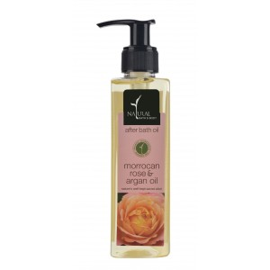 Buy Natural Bath & Body Morrocan Rose & Argan Oil After Bath Oil - Nykaa