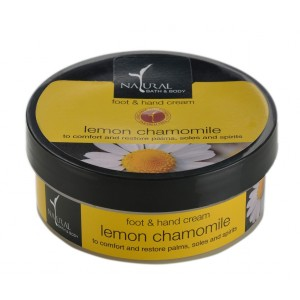 Buy Natural Bath & Body Lemon Chamomile Hand & Foot Cream - Nykaa