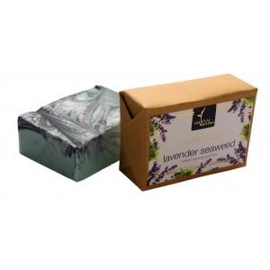 Buy Natural Bath & Body Lavender Seaweed Bathing Bar - Nykaa