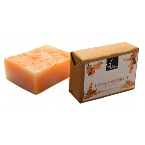 Buy Natural Bath & Body Honey Mandarin Bathing Bar - Nykaa
