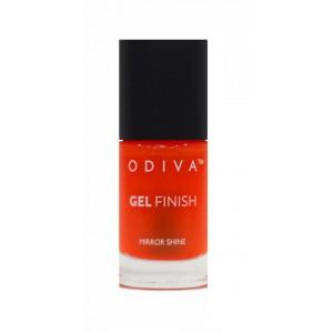 Buy Herbal Odiva Gel Finish Nail Polish - 02 Orange Blossom - Nykaa