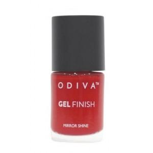 Buy Odiva Gel Finish Nail Polish - 03 Tango With Red - Nykaa