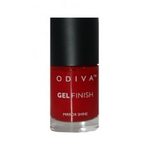 Buy Odiva Gel Finish Nail Polish - 04 Berry Crush - Nykaa