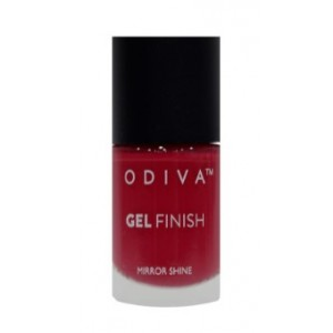 Buy Odiva Gel Finish Nail Polish - 05 Scarlet Ribbons - Nykaa