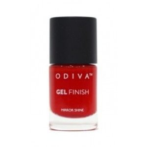 Buy Odiva Gel Finish Nail Polish - 24 Tomatina - Nykaa