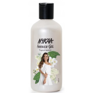 Buy Nykaa Tropical Jasmine Shower Gel  - Nykaa