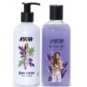 Buy Nykaa French Lavender Combo - Body Lotion & Shower Gel - Nykaa