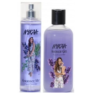 Buy Nykaa French Lavender Combo - Fragrance Mist & Shower Gel - Nykaa