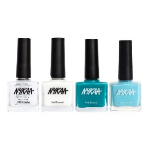 Buy Nykaa Nail Enamel - The Bold And The Beautiful Combo - Nykaa