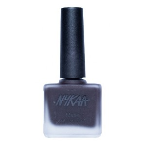 Buy Nykaa Matte Nail Enamel - Black Cherry Pie - Nykaa