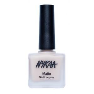 Buy Nykaa Matte Nail Enamel - Almond Crumble - Nykaa