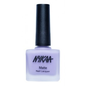 Buy Nykaa Matte Nail Enamel - Lavender Panna Cotta - Nykaa