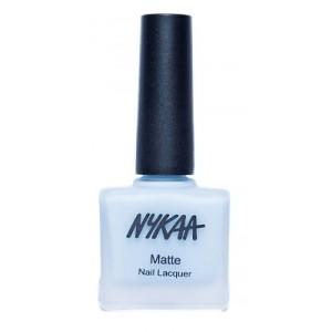 Buy Nykaa Matte Nail Enamel - Blueberry Macaron - Nykaa
