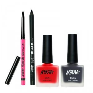 Buy Nykaa Life Saver Eyes And Nails Combo - Nykaa