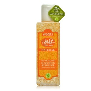 Buy Herbal Vagad's Khadi Sunscreen Scrub Gel  - Nykaa