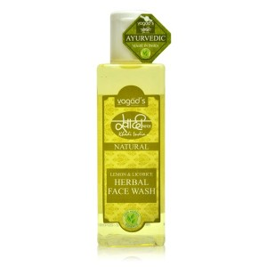 Buy Herbal Vagad's Khadi Lemon & Licorice Herbal Face Wash - Nykaa