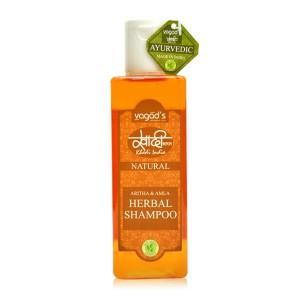 Buy Vagad's Khadi Aritha & Amla Herbal Shampoo  - Nykaa