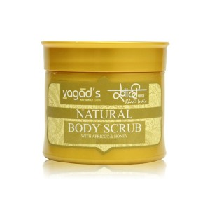 Buy Vagad's Khadi Body scrub with Apricot & Honey - Nykaa
