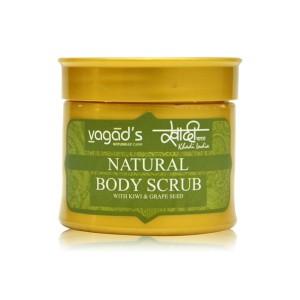 Buy Vagad's Khadi Body scrub with Kiwi & Grapeseed - Nykaa