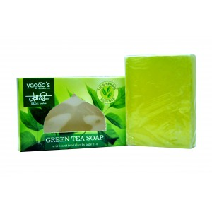 Buy Vagad's Khadi Green Tea Handmade Soap - Nykaa