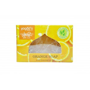 Buy Vagad's  Khadi Orange & Lemongrass Handmade Soap - Nykaa