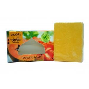 Buy Vagad's  Khadi Papaya & Liqurious Handmade Soap - Nykaa