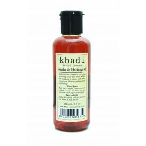 Buy Herbal Khadi Amla & Bhringraj Shampoo - Nykaa