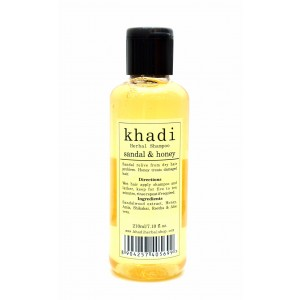 Buy Khadi Sandal & Honey Shampoo - Nykaa
