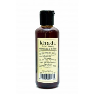 Buy Khadi Shikakai & Honey Shampoo - Nykaa