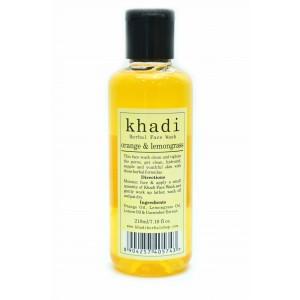 Buy Khadi Orange & Lemongrass Wash - Nykaa