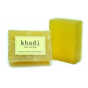 Buy Khadi Neem-Tulsi Soap - Nykaa