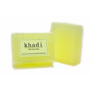 Buy Khadi Aloe Vera Soap - Nykaa