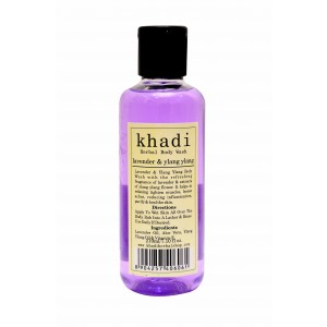Buy Herbal Khadi Lavender & Ylang Ylang Body Wash - Nykaa