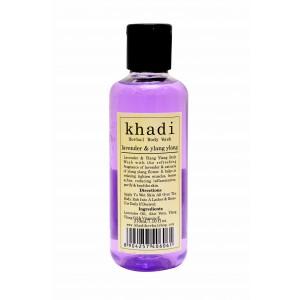 Buy Khadi Lavender & Ylang Ylang Body Wash - Nykaa