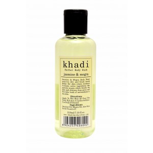 Buy Khadi Jasmine & Mogra Body Wash - Nykaa