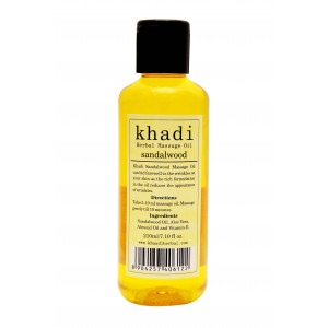Buy Khadi Sandalwood Massage Oil - Nykaa