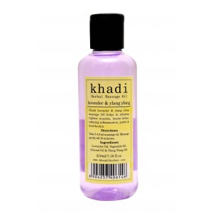 Buy Khadi Lavender & Ylang Ylang Massage Oil - Nykaa