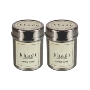 Buy Khadi Sandal Face Pack (Pack of 2) - Nykaa