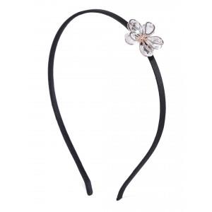 Buy Toniq Black Floral Head Band - Nykaa