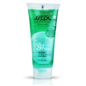Buy SSCPL Herbals Sparino Neem Aloevera Face Wash - Nykaa