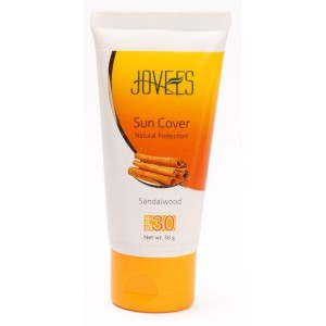 Buy Jovees Sandalwood Sun Cover Natural Protection - SPF 30 - Nykaa