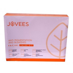 Buy Jovees Anti Pigmentation And Blemishes Mini Facial Value Kit - Nykaa