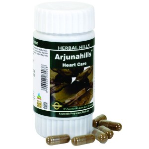 Buy Herbal Hills Arjunahills Capsule - Nykaa