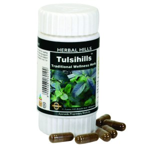 Buy Herbal Hills Tulsihills Capsule - Nykaa