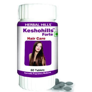 Buy Herbal Hills Keshohills Forte Tablets - Nykaa