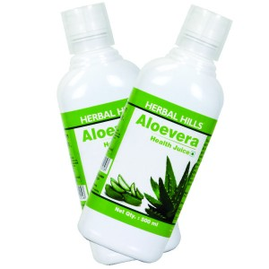 Buy Herbal Hills Aloevera Juice (Combo) - Nykaa