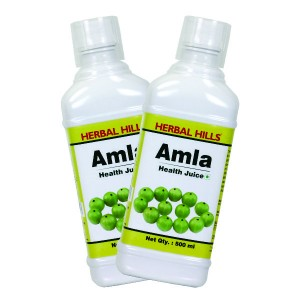 Buy Herbal Herbal Hills Amla Juice (Combo) - Nykaa